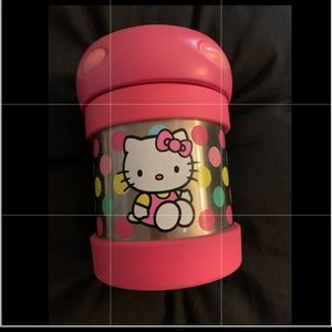 Hello Kitty Thermos brand insulated container